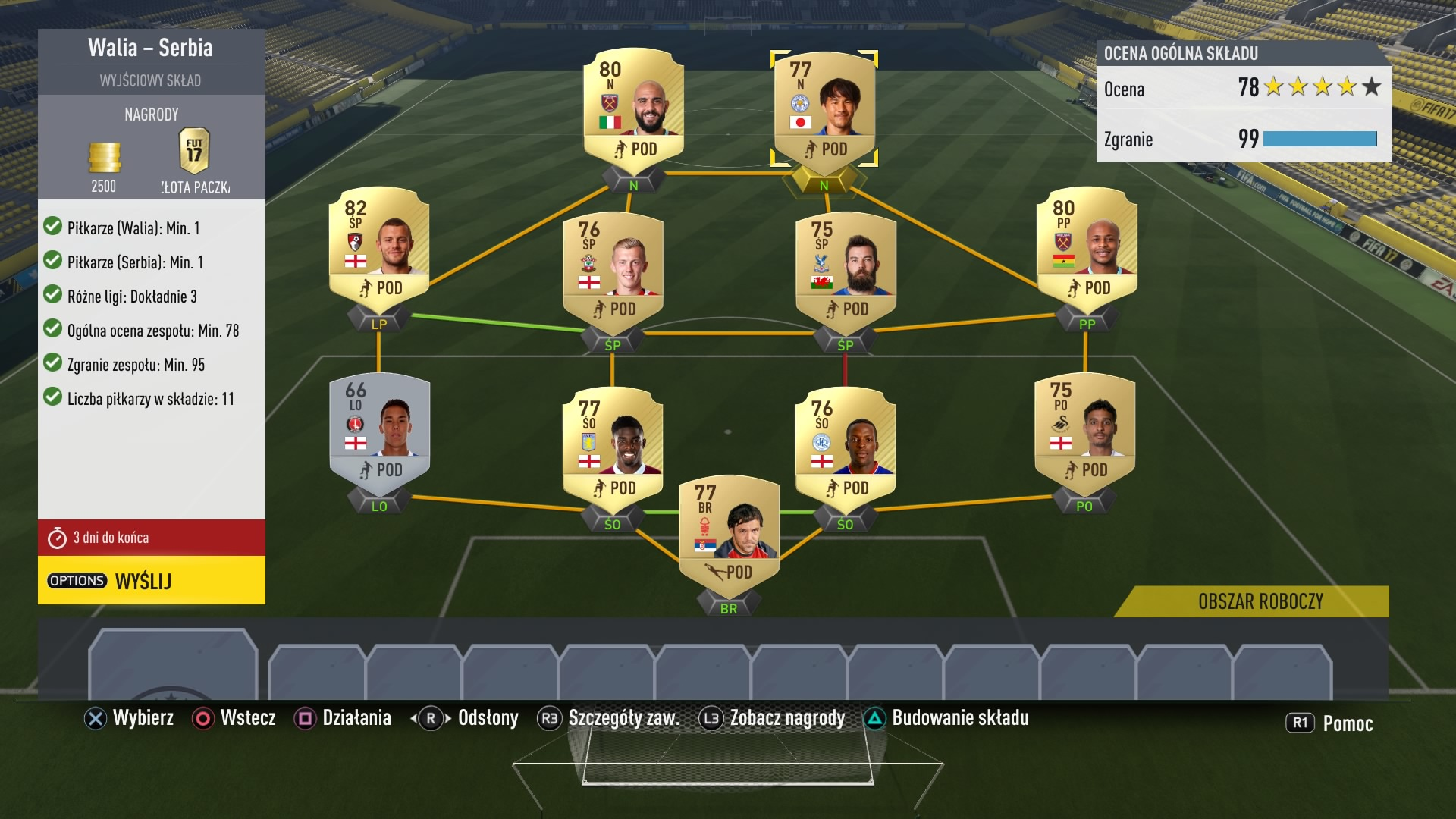 fifa 17 squad building challenges strona 10 fifa ps3 forum o playstation wiemy wszystko. Black Bedroom Furniture Sets. Home Design Ideas